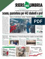 Prime pagine pdf rassegna stampa Umbra e nazionale 26 settembre 2020