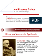 Chemical Process Safety for ChE 405-September 2019