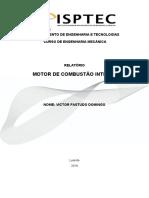 relatorio motor de combustao interna