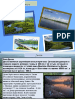 Реки Украины (Десна , Припять , Денестр)