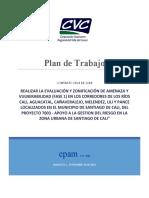 Plan de Trabajo Hidrología Hidráulica