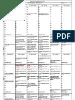 Summer 2020 Updated Class Schedule MC