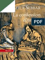La Confession d'un fou - Leila SEBBAR.pdf