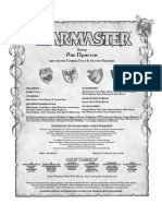 Warmaster Rulebook RUS