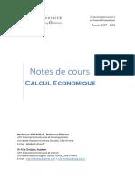 cours de calcul économiquee-1