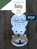 LanikSky - My little bear Baby Rattle