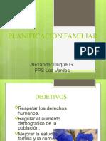 PLANIFICACION- FAMILIAR