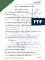 Chapitre 2 Développements limités_Cours Maths2 SM 19-20.pdf