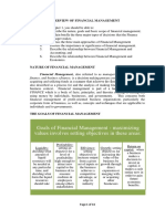 CHAPTER 1OVERVIEW OF FINANCIAL MANAGEMENT