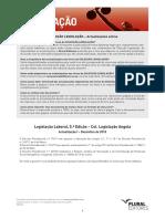 Lei da contribuição da protecção social