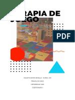TERAPIA DE JUEGO TEMA I