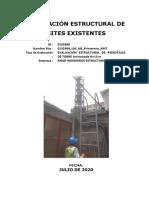 Evaluación Estructural  pedestal_primavera