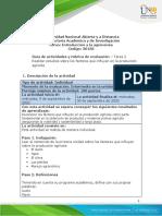 Guia de actividades y Rúbrica de evaluación - Tarea 2 - Realizar estudios sobre los factores que influyen en la produccion agricola (1).pdf