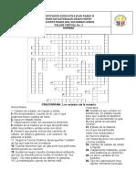 TALLER No. 3 LOS ESTADOS DE LA MATERIA