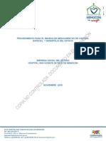 PROCEDIMIENTO PARA EL MANEJO DE MEDICAMENTOS DE CONTROL ESPECIAL  Y MONOPOLIO DEL ESTADO.docx