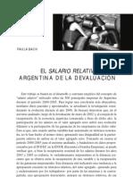 Bach, Paula - El salario relativo en la Argentina de la devaluación