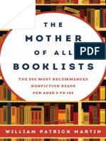 The Mother of All Booklists - The 500 Most Recommended Nonfiction