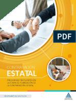 PREGUNTAS FRECUENTES EN LA ETAPA DE PLANEACIÓN DE LA CONTRATACIÓN ESTATAL