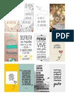 separadores libro-mensaje positivo