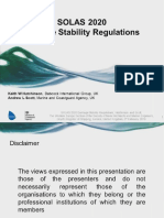 SOLAS 2020 Damage Stability Regulations - A Critical Review