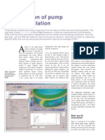 The evolution of pump design simultion