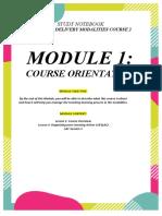 Module 1 Study Notebook