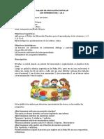 TALLE DE EDUCACIÓN POPULAR NÚMEROS 1-6