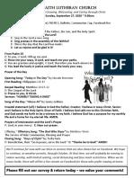 Sept. 27, 2020 - Bulletin.pdf