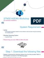 0_STM32 ASEAN Workshop Installation Instructions