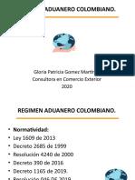 REGIMEN ADUANERO COLOMBIANO [Autoguardado]