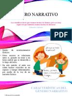 Elementos del género narrativo
