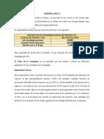Analisis empresa BETA