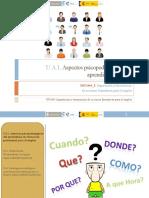 UA1. Aspectos psicopedagógicos de la FPE