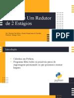 Pitch Engrenagens, 1 Projeto, Christian e Renato