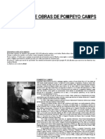 Pompeyo Camps - Catalogo de obras