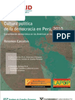 Perú. resumen ejecutivo 2010