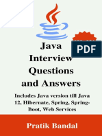 Java Interview Questions and Answers Includes Java version till Java 12 [BooxRack]