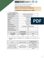 REPORTE DE LA MARATON  3°  F - Prof. NILDA INES CHAVEZ CHOTA