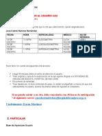 GUION ASIGNACION DE CITAS PAGINA WEB karen