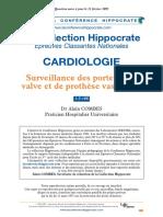 SURVEILLANCE DES PORTEURS DE VALVE ET DE PROTHESE VALVULAIRE.pdf