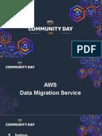 AWSCommunityDayLima2019-DMS-Presentación