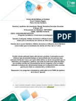 Ficha de Entrega Actividad 2. Wendy González. Grupo, 401.