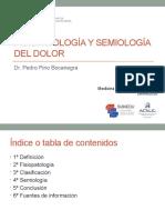 Semana 2 Sesión 1 - DOLOR - Dr. Pino.pptx