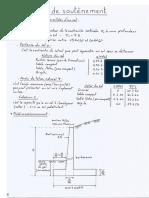 calcul et conception de mur de soutènement