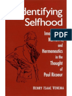 Venema Henry Isaac. - Identifying Selfhood_ Imagination, Narrative, and Hermeneutics in the Thought of Paul Ricoeur.pdf