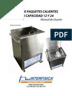 Manual Tanque Paquetes Calientes interfisica
