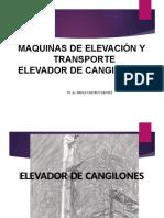 ELEVADOR DE CANGILONES