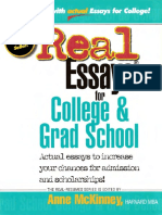 Real Essays for College and Grad School_2000