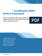 CloudEngine 6850 Series Data Center Switches Data Sheet