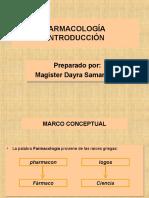 Clase 1 Farmacología - Introducción